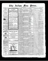 Acton Free Press (Acton, ON), August 14, 1924