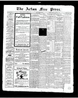 Acton Free Press (Acton, ON)11 Sep 1924