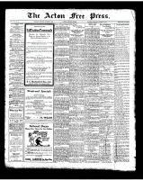 Acton Free Press (Acton, ON), October 2, 1924