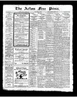 Acton Free Press (Acton, ON), October 9, 1924