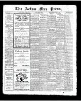 Acton Free Press (Acton, ON)16 Oct 1924