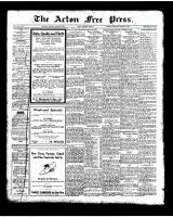 Acton Free Press (Acton, ON)23 Oct 1924