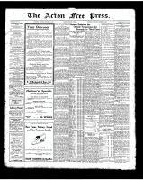 Acton Free Press (Acton, ON)30 Oct 1924