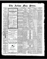 Acton Free Press (Acton, ON)13 Nov 1924