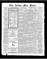 Acton Free Press (Acton, ON)20 Nov 1924