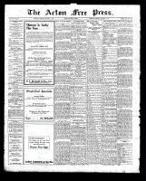 Acton Free Press (Acton, ON)1 Jan 1925