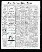 Acton Free Press (Acton, ON)8 Jan 1925