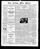 Acton Free Press (Acton, ON)15 Jan 1925