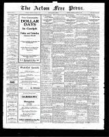 Acton Free Press (Acton, ON), January 22, 1925