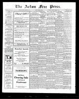 Acton Free Press (Acton, ON)5 Feb 1925