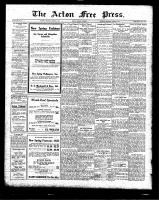 Acton Free Press (Acton, ON)5 Mar 1925