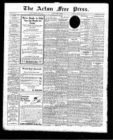 Acton Free Press (Acton, ON)9 Apr 1925
