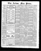Acton Free Press (Acton, ON)23 Apr 1925