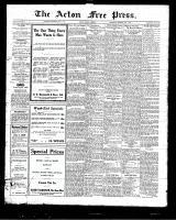 Acton Free Press (Acton, ON)1 Jul 1925