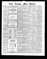 Acton Free Press (Acton, ON)20 Aug 1925