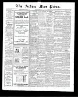 Acton Free Press (Acton, ON)15 Oct 1925