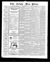 Acton Free Press (Acton, ON)22 Oct 1925