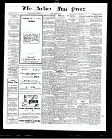 Acton Free Press (Acton, ON)29 Oct 1925