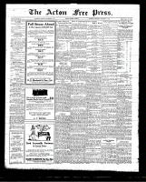 Acton Free Press (Acton, ON)5 Nov 1925