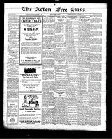 Acton Free Press (Acton, ON)12 Nov 1925