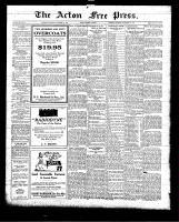 Acton Free Press (Acton, ON)12 Nov 1925