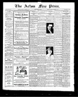 Acton Free Press (Acton, ON)26 Nov 1925