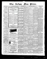 Acton Free Press (Acton, ON)17 Dec 1925