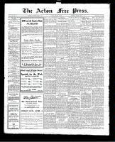 Acton Free Press (Acton, ON), April 1, 1926