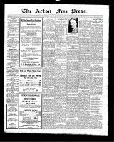 Acton Free Press (Acton, ON), May 6, 1926