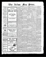 Acton Free Press (Acton, ON), July 22, 1926