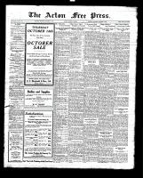 Acton Free Press (Acton, ON), October 14, 1926