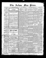 Acton Free Press (Acton, ON), October 21, 1926