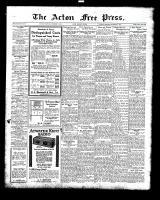 Acton Free Press (Acton, ON), November 11, 1926