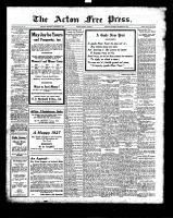 Acton Free Press (Acton, ON), December 30, 1926