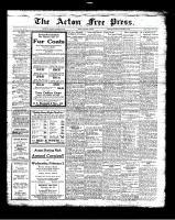 Acton Free Press (Acton, ON), January 20, 1927