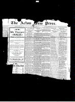 Acton Free Press (Acton, ON)5 Jul 1928