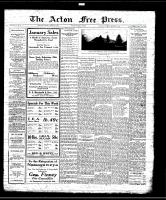 Acton Free Press (Acton, ON), January 2, 1930