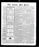 Acton Free Press (Acton, ON), March 20, 1930