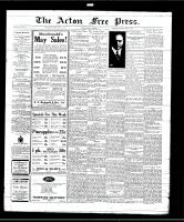 Acton Free Press (Acton, ON), May 8, 1930