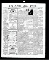 Acton Free Press (Acton, ON), June 5, 1930