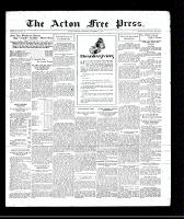 Acton Free Press (Acton, ON), November 6, 1930