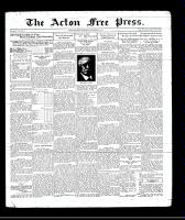 Acton Free Press (Acton, ON), November 20, 1930