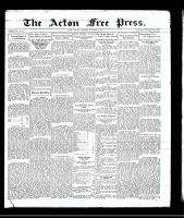 Acton Free Press (Acton, ON), December 4, 1930