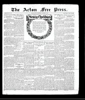 Acton Free Press (Acton, ON), December 24, 1930