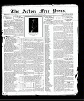 Acton Free Press (Acton, ON), July 2, 1931