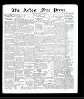Acton Free Press (Acton, ON), August 6, 1931
