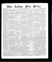 Acton Free Press (Acton, ON), August 13, 1931