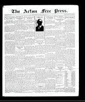 Acton Free Press (Acton, ON), August 27, 1931