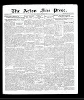 Acton Free Press (Acton, ON), September 3, 1931