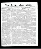 Acton Free Press (Acton, ON), October 1, 1931